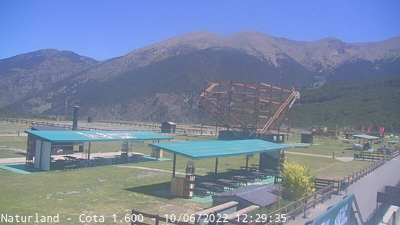 Webcam de Camp Base - Cota 1.600