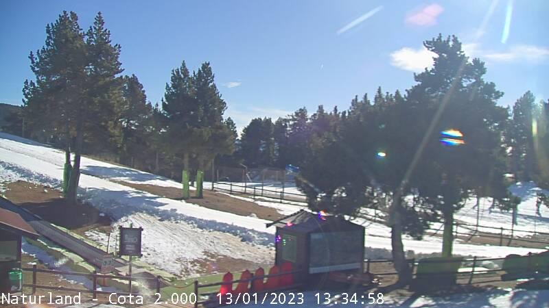 Webcam en Camp de neu - Cota 2.000, La Rabassa - Naturlandia (Andorra)