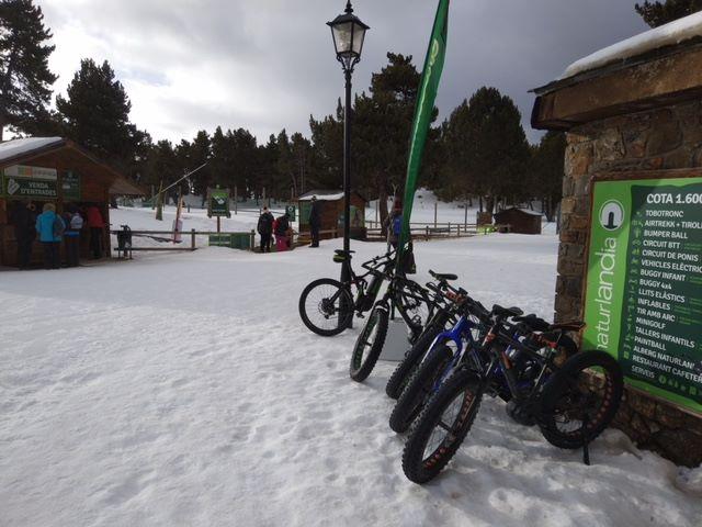 Bicicletes de neu Andorra