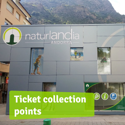 Ticket collection points