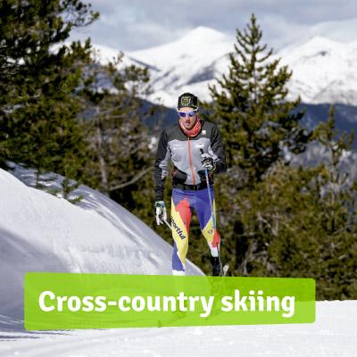 Cross-country skiing Naturlandia