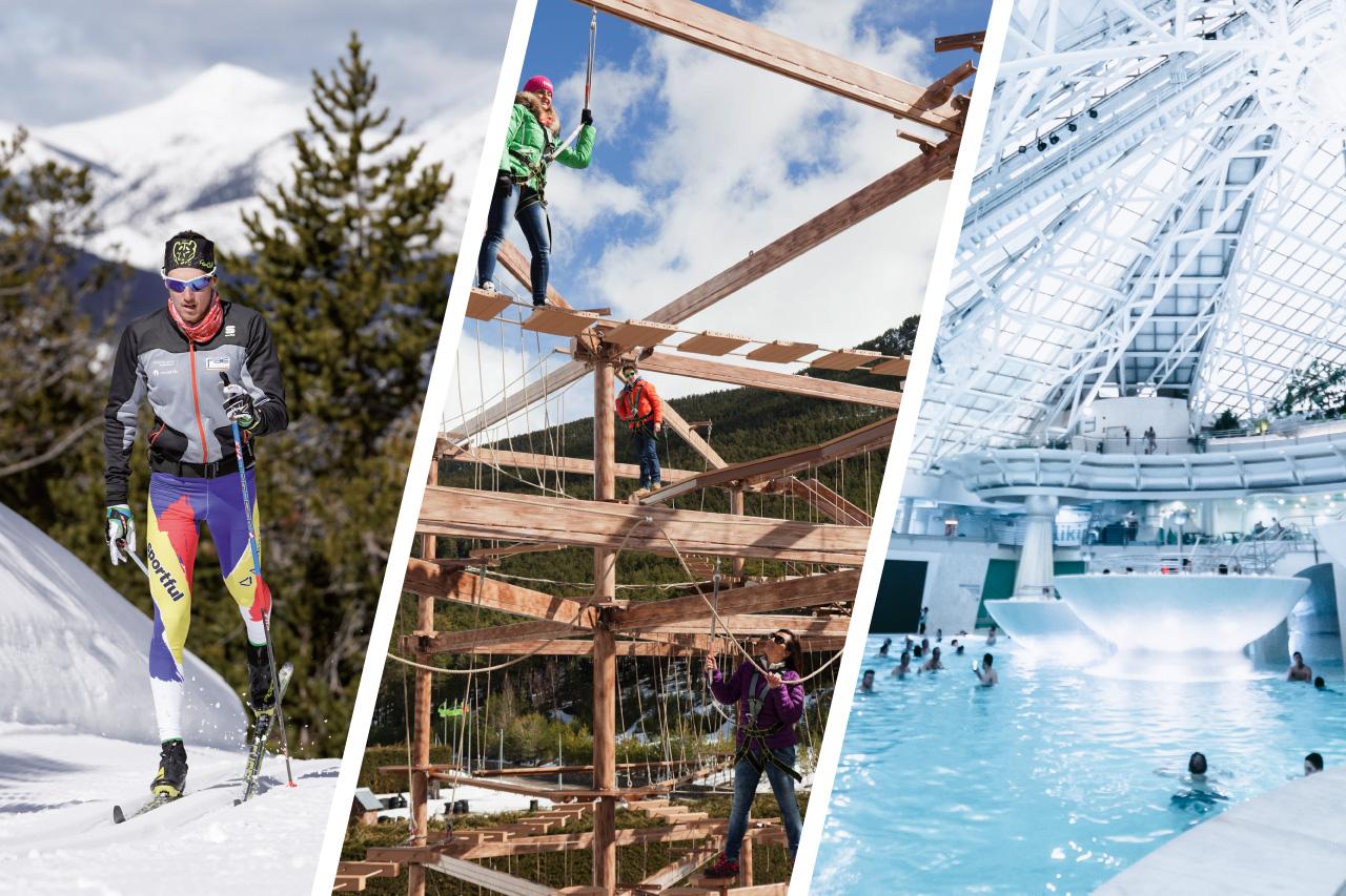 Aventura, esquí de fons i relax - Naturlandia
