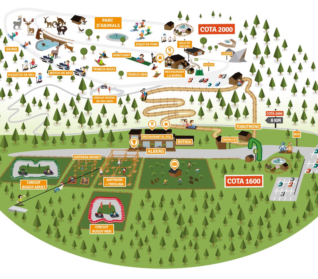 Mapa Naturlandia hivern 2020 2021