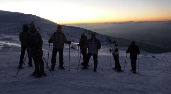Raquetes de neu a Naturlandia Andorra