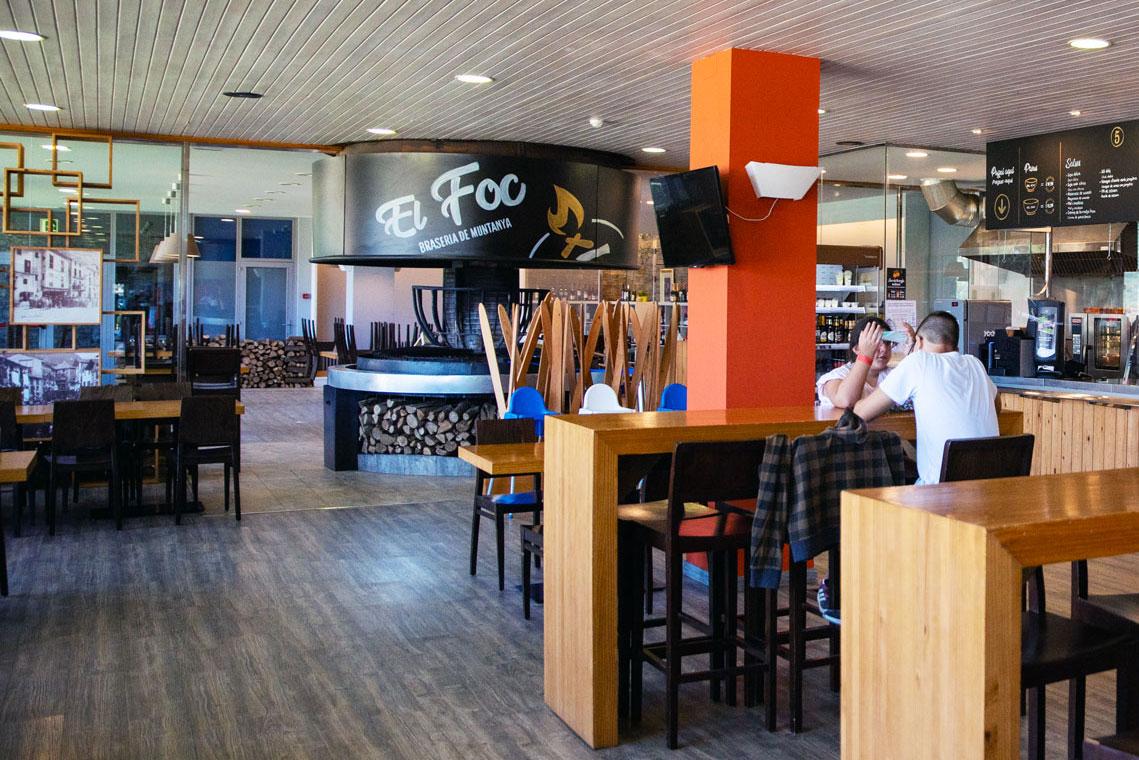 Restaurant El Foc - Naturlandia